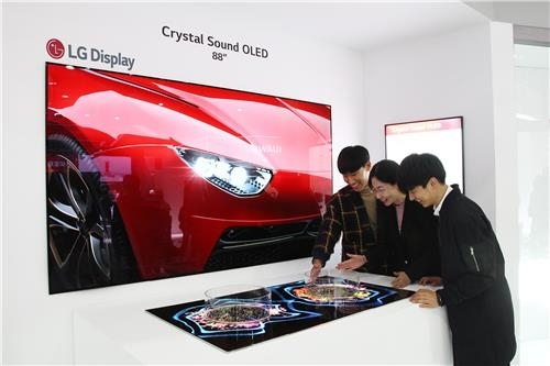 LG显示器OLED产品线亮相上海家电展