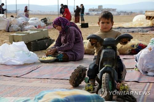 韩今年人道援助叙利亚及邻国1200万美元