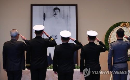 安重根义士殉国109周年纪念仪式在首尔举行