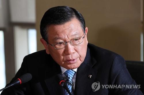 简讯:锦湖韩亚集团会长朴三求卸任