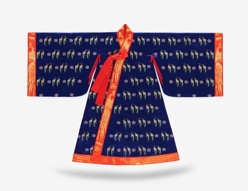 韩国传统服饰展明在中国杭州开幕
