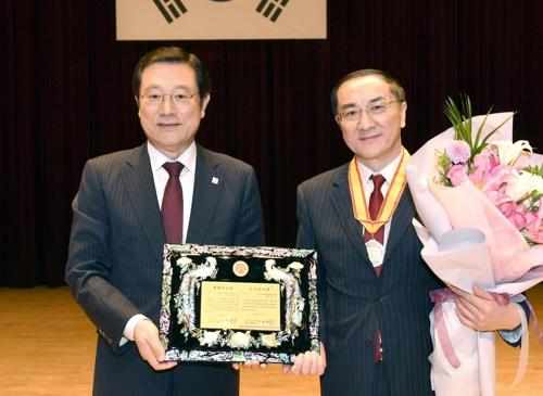 中国驻光州总领事成光州市名誉市民