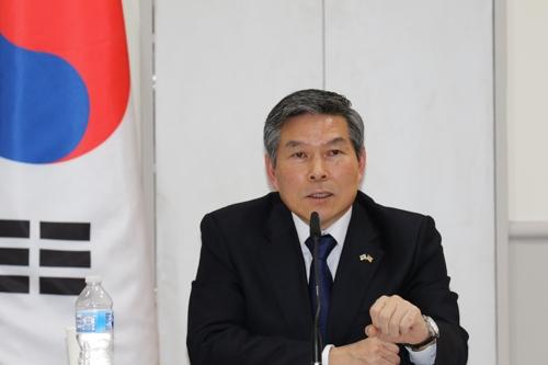 韩防长:美方重申移交战权后仍将提供军事支持