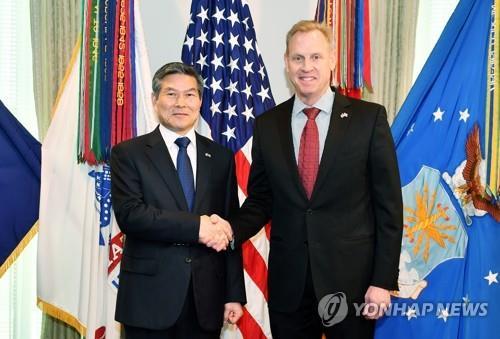 美国政府表彰韩国防长维和功勋