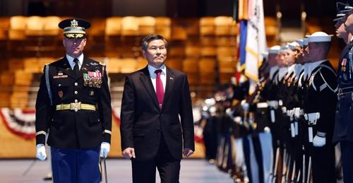 韩国防长对朝军动向及韩美联演表态