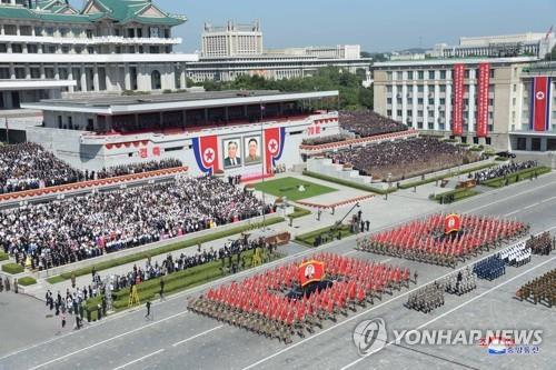 美智库:朝鲜军车集结或准备阅兵