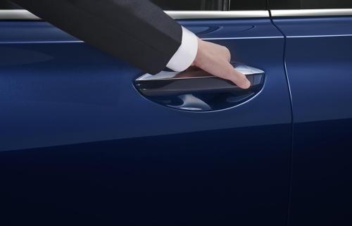 第四代胜达指纹识别技术(韩联社/现代汽车供图)