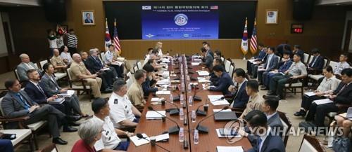 韩美联合国防协商机制第15次会议本周在美举行
