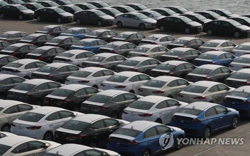 韩2019年第一季度乘用车出口同比增2.7%