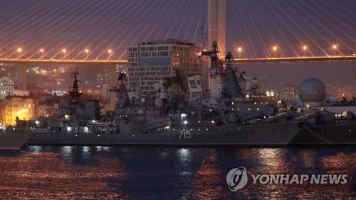 金正恩访问太平洋舰队战斗荣誉纪念碑广场