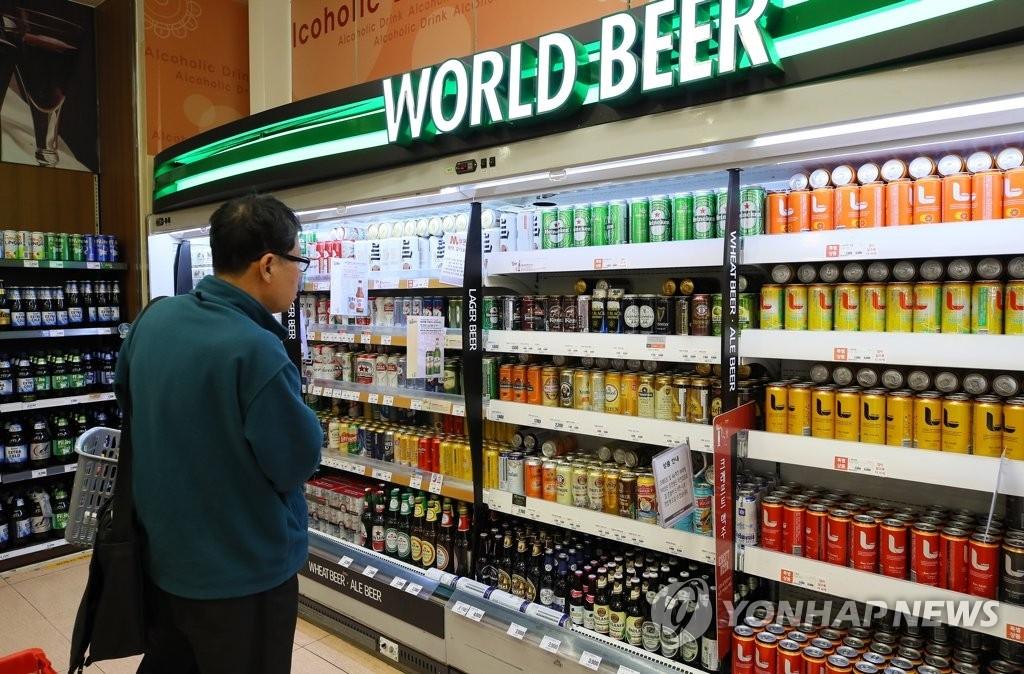 详讯:韩食药安全部门检查疑含农药成分进口啤酒