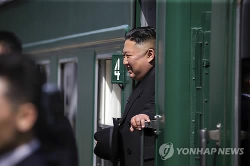 金正恩结束访俄行程返回朝鲜