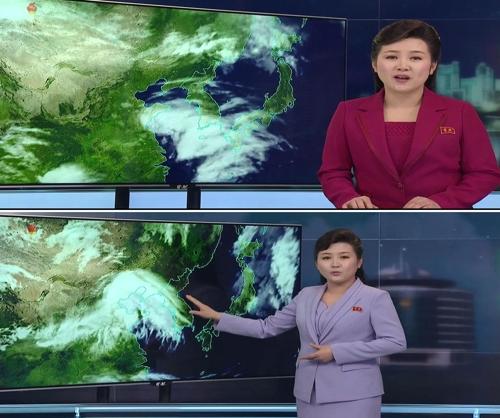 朝鲜气象节目改风格 从读到说耳目一新