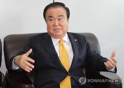 韩国国会议长文喜相明将访华