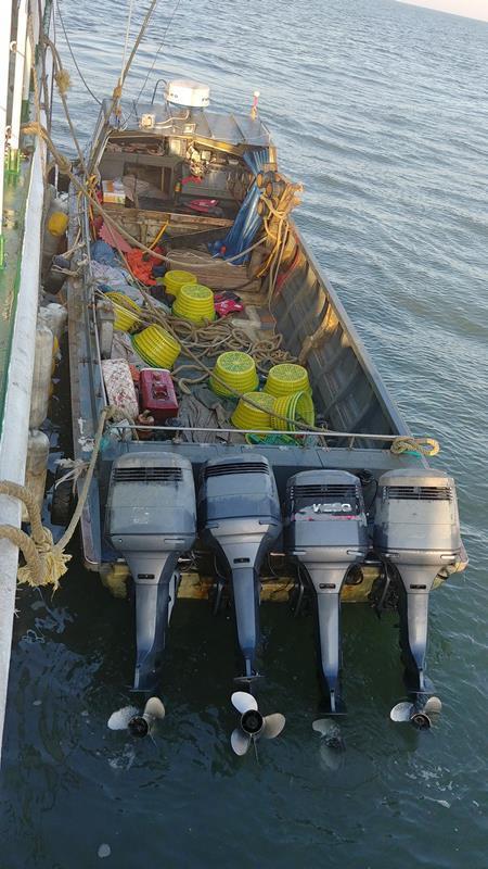 韩国西部海域非法捕捞中国渔船骤增