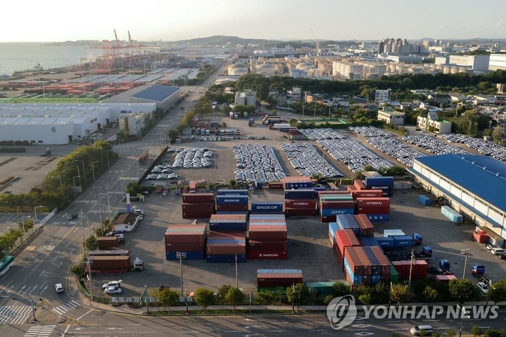韩5月前10天出口同比减少6.4%