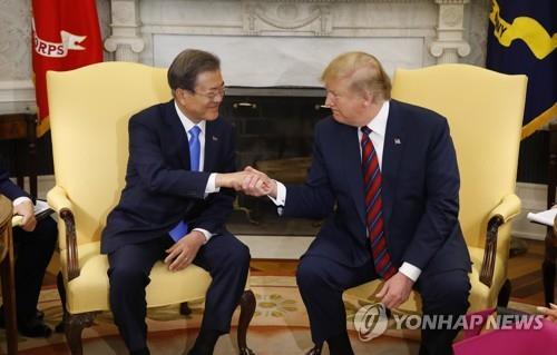 韩青瓦台:文特会促成体现韩美总统密切协作