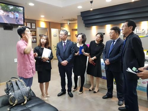 山东文登医务交流团访问韩国天安医疗机构