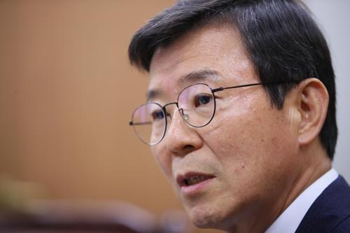 海洋水产部长官文成赫(韩联社)