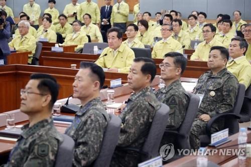 韩国防部:民官军联演不影响韩朝协议履行