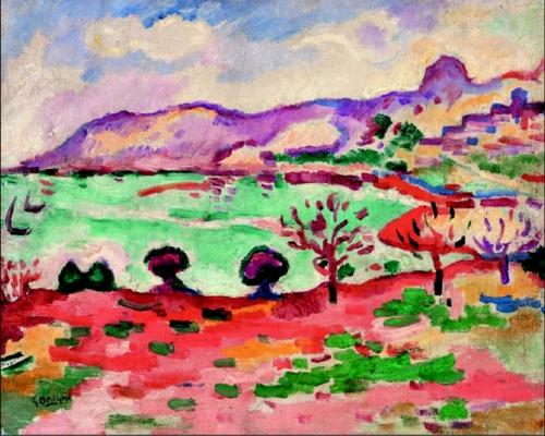 乔治·布拉克《马赛风光》(法国特鲁瓦现代艺术馆供图)