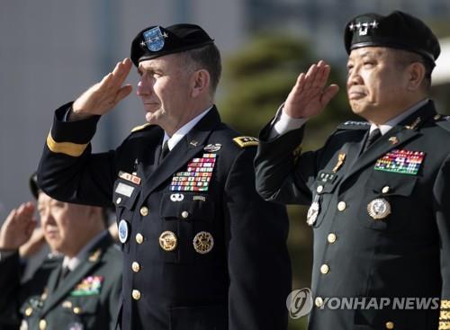 韩美联军8月演习正副司令换位指挥