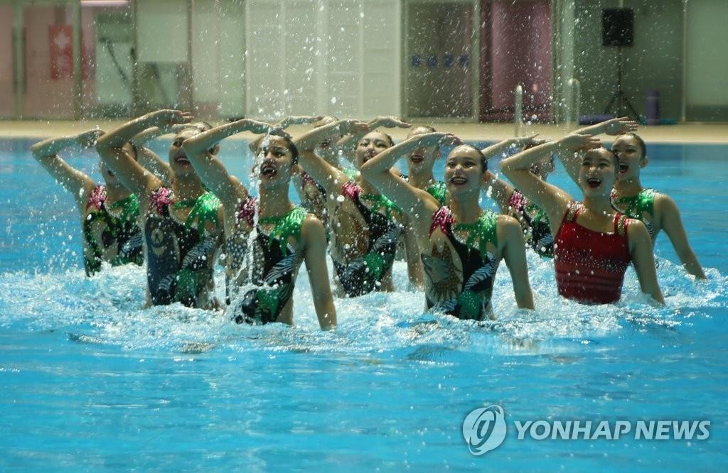 光州世游赛倒计时30天 各国泳坛明星齐亮相