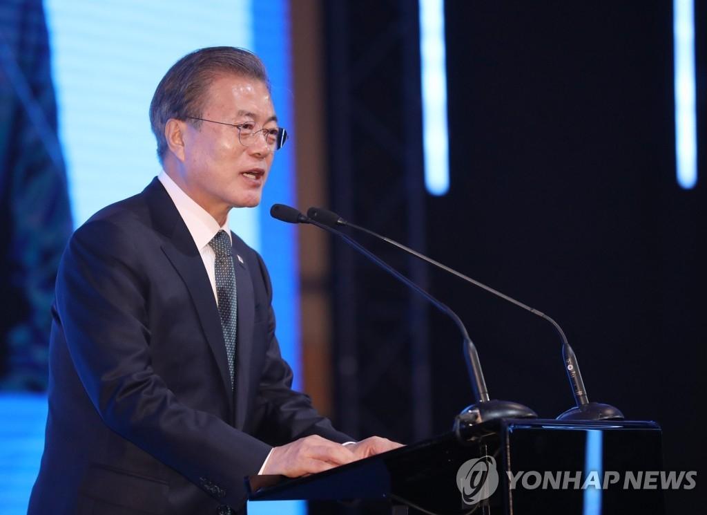 文在寅:学习芬兰创业经 圆和平繁荣韩国梦