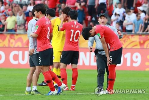 详讯:U20世界杯韩国1比3不敌乌克兰获亚军