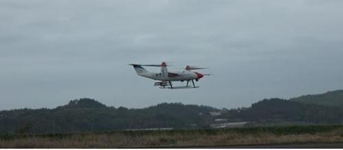 资料图片:TR-60无人机 韩科技部供图(图片严禁转载复制)