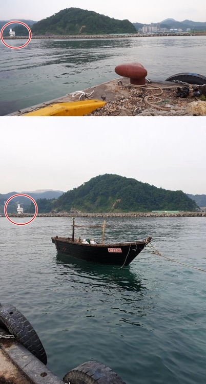 朝渔船畅行驶入韩国港引发居民不安