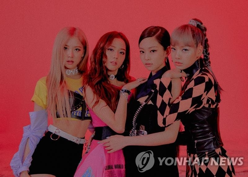 女团BLACKPINK 韩联社/YG娱乐供图(图片严禁转载复制)