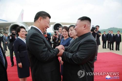 详讯:习近平结束对朝鲜国事访问启程回国