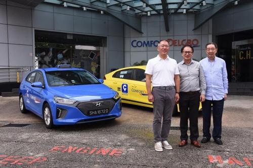 现代向新加坡康福德高再供应2000辆混动车