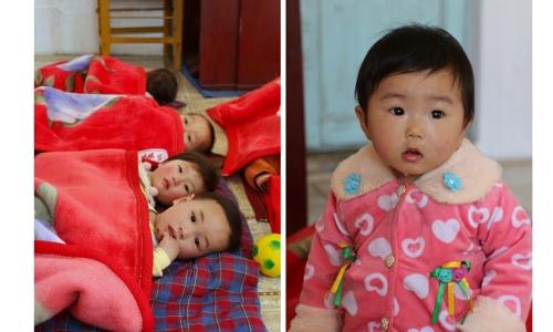 朝鲜儿童 詹姆斯·贝尔格雷夫/世粮署官网截图(图片严禁转载复制)