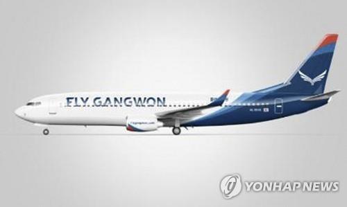 资料图片:江原航空客机 韩联社