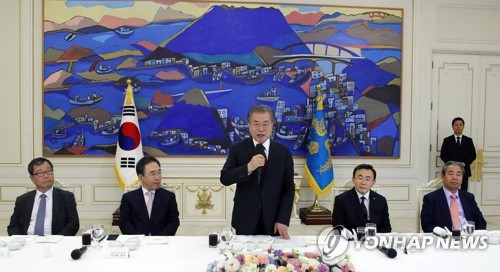 文在寅呼吁韩国教会为半岛和平发挥带头作用