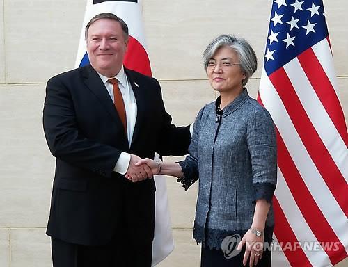 韩美外长通话讨论日本对韩限贸措施