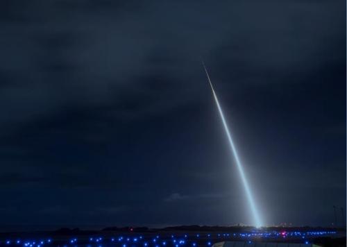 夜空亮剑的标准系列舰空导弹 《驻韩美军2019战略概要》供图(图片严禁转载复制)