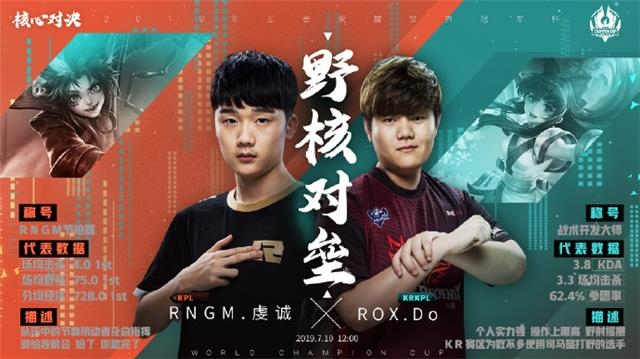 ROX对阵RNG.M 腾讯游戏供图
