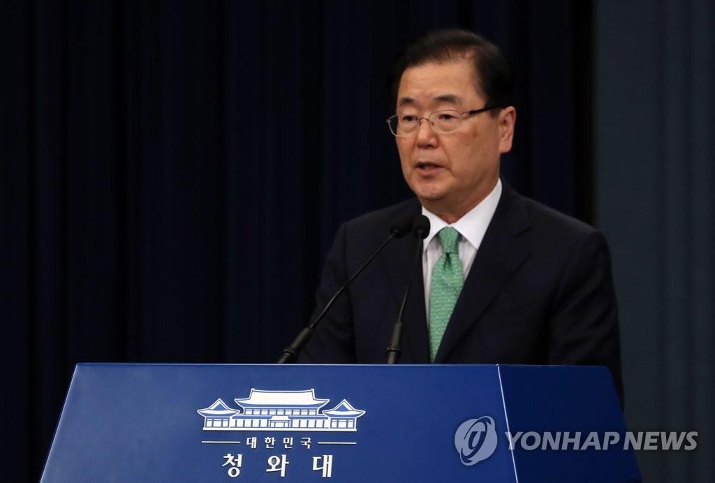 详讯:韩国安首长称将视情况考虑韩日军情协定