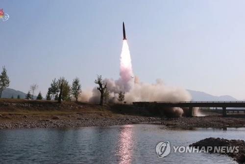 韩军研判朝鲜今晨所射飞行器为近程导弹