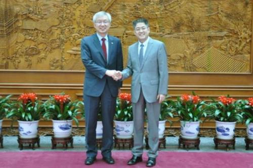 韩中海域划界谈判第二轮会谈在京举行