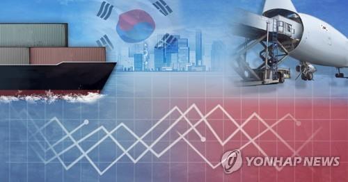 韩国上半年与自贸伙伴贸易总额同比减少5.3%