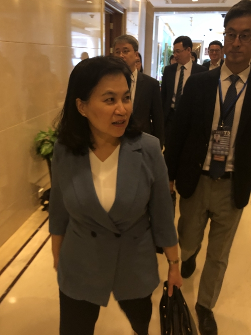 韩国产业部高官呼吁日方通过对话解决问题