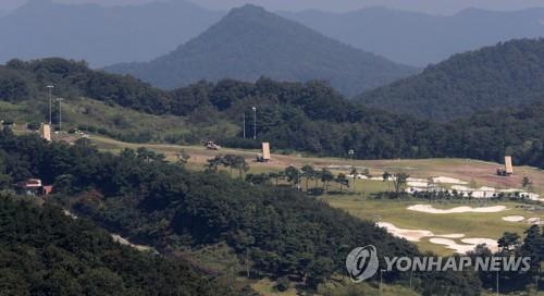 韩国萨德基地宿舍改建工程启动