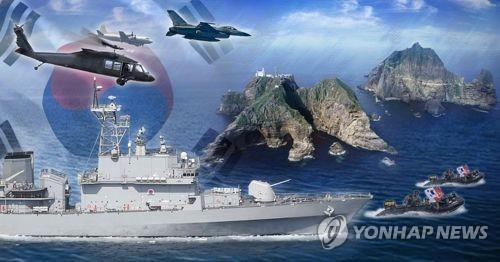 韩军考虑月内进行独岛防御演习
