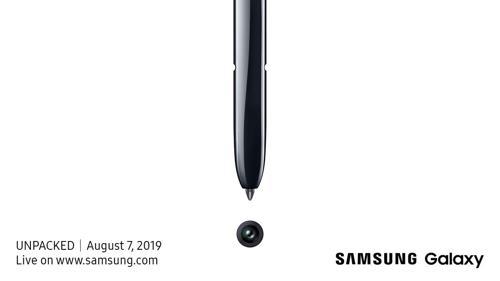 三星Note10在美发布在即 遥控笔更聪明