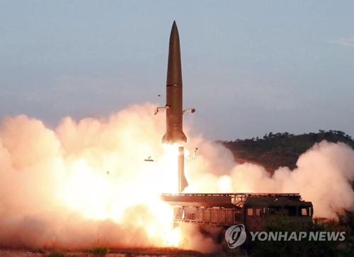 简讯:韩军研判朝鲜今射飞行器疑似近程弹道导弹