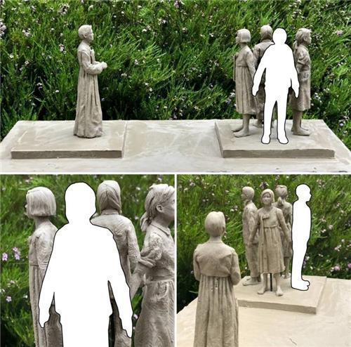 首尔市为慰安妇受害者立铜像